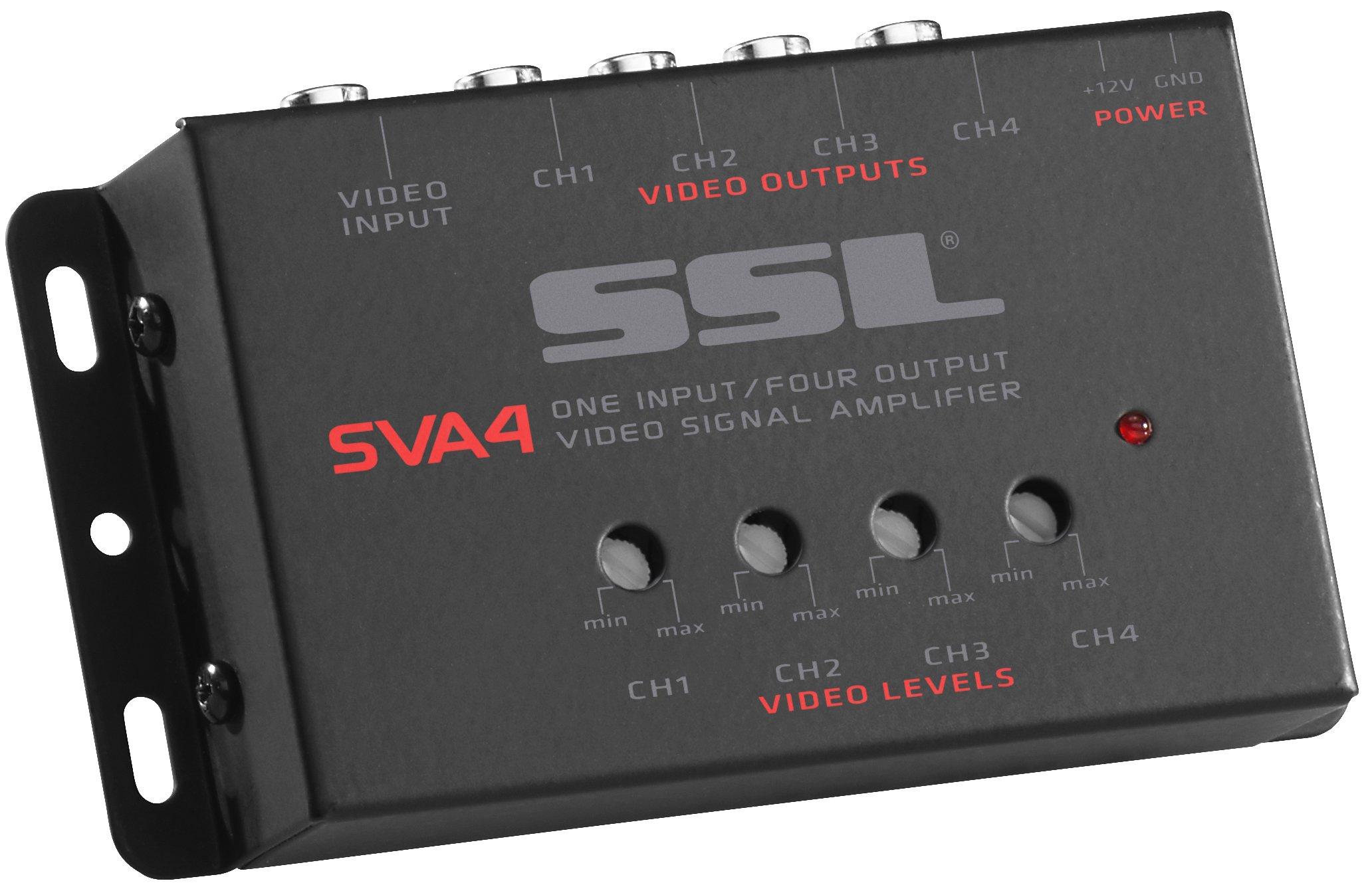 Sound Storm SVA4 Amplifier Outputs