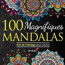 100 Magnifiques Mandalas: Livre de Coloriage pour Adultes, Super Loisir Antistress pour se détendre avec de beaux Mandalas...