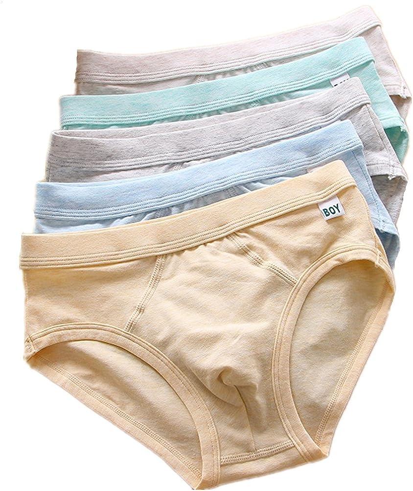 CzBonjour Big Boys' 5 Pack Ultimate Briefs Comfort Underwear