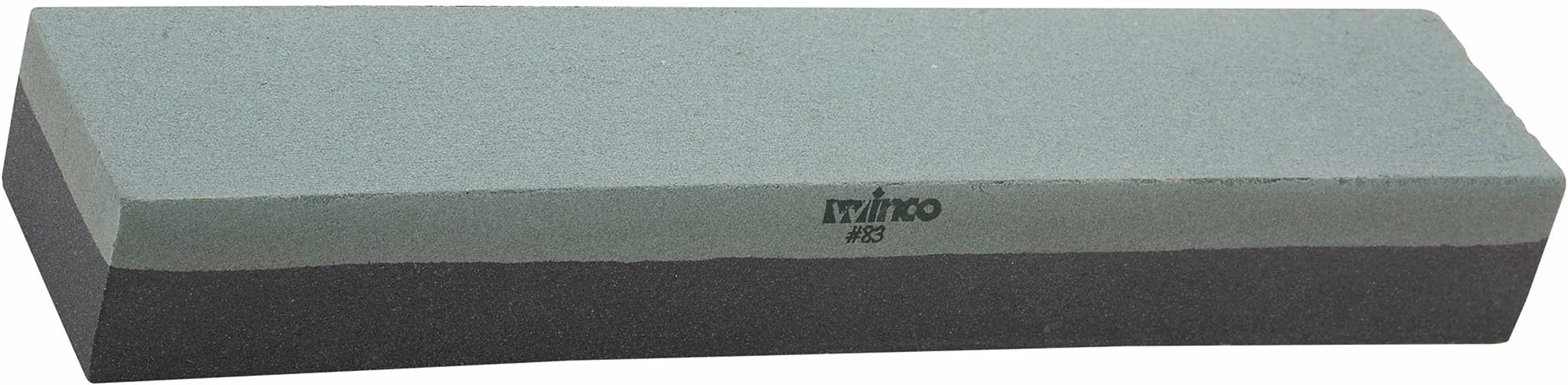 Winco SS 1211 Fine Grain Knife Sharpening Stone 12 Inch Medium