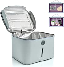 Hope C+ UVC box sterilizer, Blue Sanitizing box Portable Bag UVC light cleaner UV Sterilizer, with 24 UVC LEDs Large Size Light Box for Phone, Beauty Tool 99.99% Cleaned in 3 minutes.