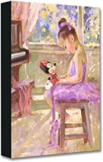 Disney Fine Art Joyful Inspiration by Irene Sheri Treasures on Canvas Minnie Mouse 18 Inches x 12 Inches Reproduction Gallery Wrapped Canvas Wall Art