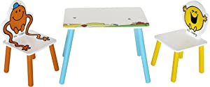 Men Table Chairs  Childrens Kids Themed Wooden Table and Chair Set Kiddi Style