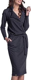 Lemoniade Damen Winter- / Herbstkleid Langarm Made in EU in elegantem Design und in vielen Farben