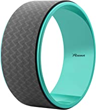 NGT Yoga Wheel 13 inch Yoga Wheel for Back Pain Strongest and Most Comfortable Dharma Yoga Prop Wheel with Free Yoga Bands
