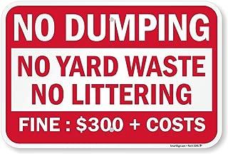Best littering fine sign Reviews