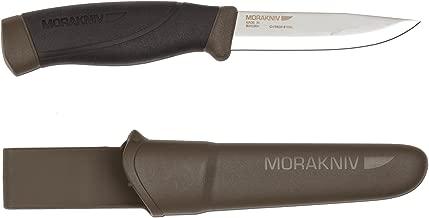 Morakniv Companion Heavy Duty Knife with Sandvik Carbon Steel Blade, 0.125/4.1-Inch