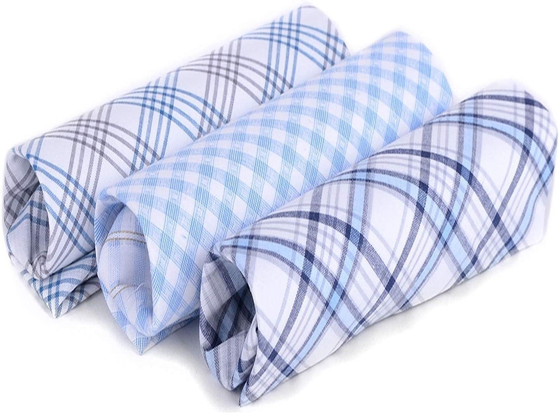 Men's 3 PC Boxed Fancy Cotton Handkerchiefs MFB1513