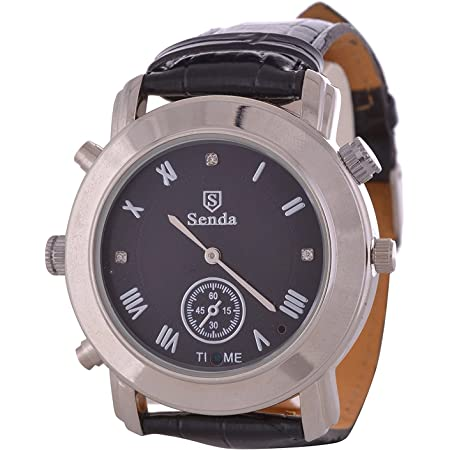 M MHB Wrist Watch Spy Camera Leather Belt, Inbuilt 16GB Memory. Crystal Clear Audio Recording. While Recording no Light Flashes.