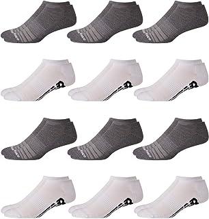 Men's Athletic Arch Compression Cushioned Low Cut Socks...