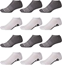 New Balance Men's Athletic Arch Compression Cushioned Low Cut Socks (12 Pack)