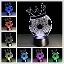 YSTSPYH Nachtlampje Creatieve 3d Bureaulamp Nachtkastdecoratie Romantische Geschenken Kleurrijke Touch Afstandsbediening T...