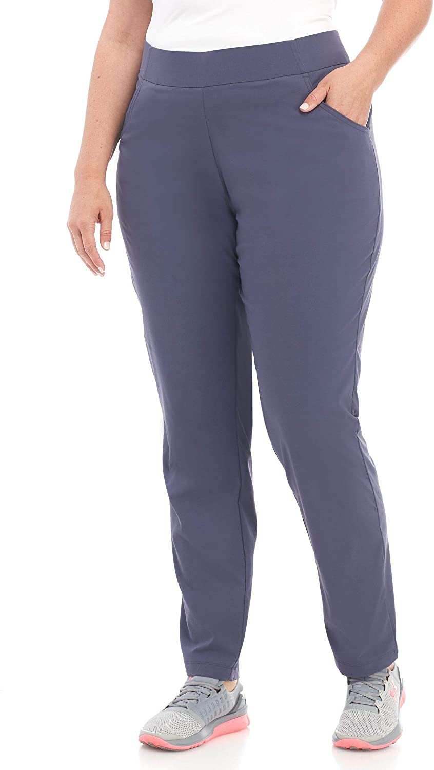 Columbia Women's Plus Size Anytime Casual Pull on Pant