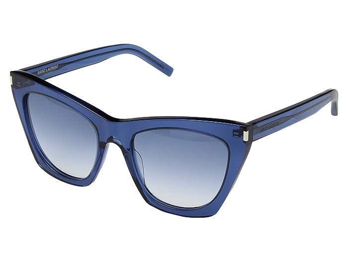 Saint Laurent SL 214 Kate (Blue) Fashion Sunglasses