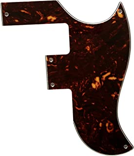 Partes de guitarra para Epiphone LTD SG-Special P90 Style Guitarra Golpeador, Tortuga marrón de 4 capas.