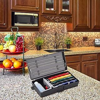 Afilador de cuchillos Deluxe, 5 piedras, sistema de afilado extra grueso, equipo de afilador de cuchillos.