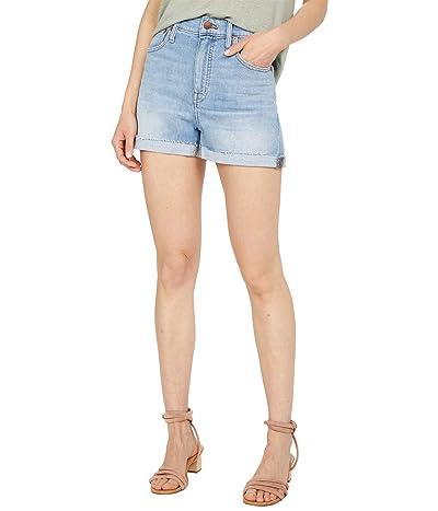 Madewell High-Rise Denim Shorts in Hemp in Watt Wash Women