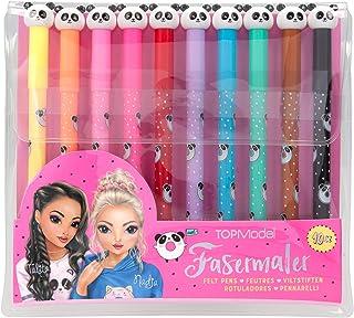 Depesche Rotulador 8678 TOPModel Candy Cake (10 colores, en estuche, aprox. 1,5 x 18,3 x 16,5 cm)