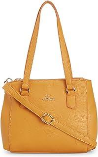 Lavie SuvanaMedium Satchel Women's Handbag (Ochre)