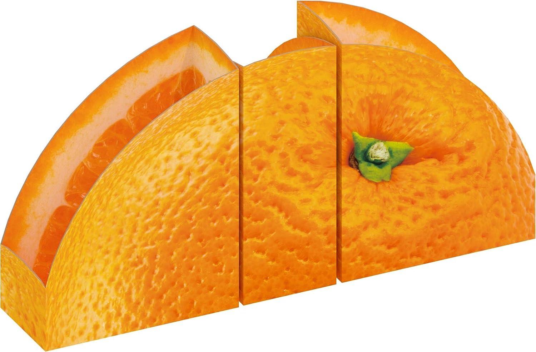 Theodorus Magazine Holders Orange-Set 1 year warranty Trust of C 3 and Thick Sturdy