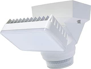 Single LED Light with 1500 lumens & 180? Motion Sensor (White)