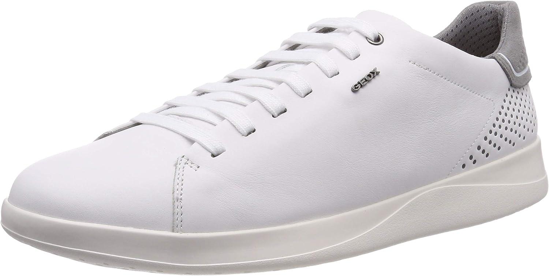 Geox Mens Kennet B Leather Sneaker Sneaker