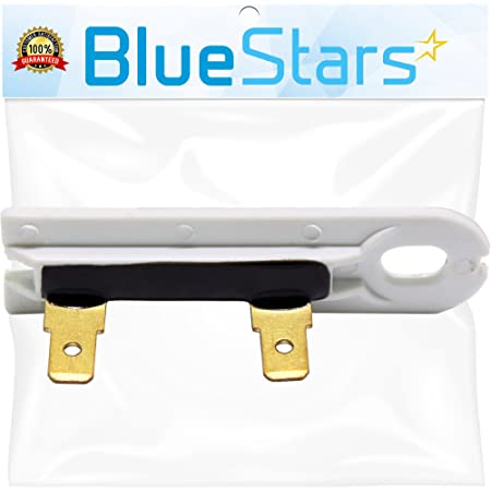 3392519 Dryer Thermal Fuse - Replacement Part by BlueStars - Exact Fit for Whirlpool Kenmore - Replaces 3388651 694511 80005 WP3392519VP