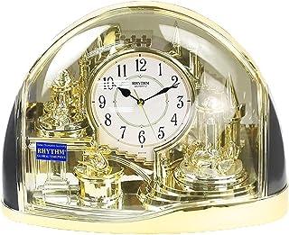 XinQing-Desk clock ساعة الأمريكية ساعة الأوروبية غرفة المعيشة الكلاسيكية كتم ساعة تدوير الرجعية البندول المطرقة ساعة