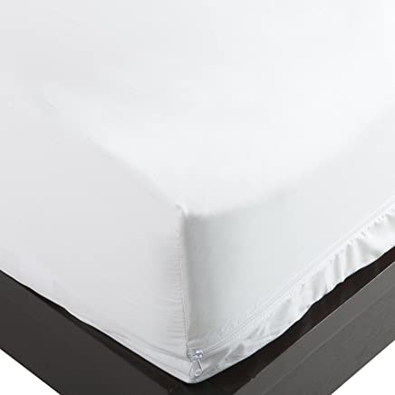 featured product Stretch Knit Polyester Bed Bug & Dust Mite Control Queen 12-Inch Deep Pocket Mattress Protector