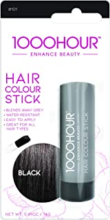 1000 HOUR Hair Colour Stick, Black, 30g