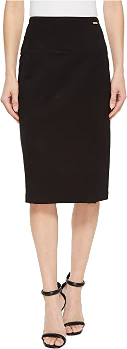 Ivanka Trump Compression Knee Length Skirt