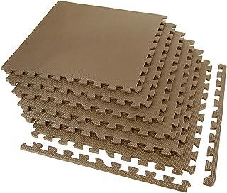 IncStores 运动瓷砖 91.44 x 60.96 厘米便携式联锁泡沫砖垫