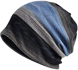 Flannel Beanies Chemo Caps Cancer Headwear Skull Cap Knitted hat Scarf for Womens Mens