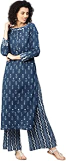 Jaipur Kurti Women's cotton straight Salwar Suit Set
