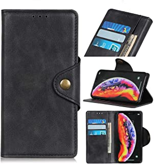Leather Case for Oppo A12S Cover Flip Over With Card Slot Kickstand RFID blocking Wallet 360 Degrees Protective 【Give 2 sh...