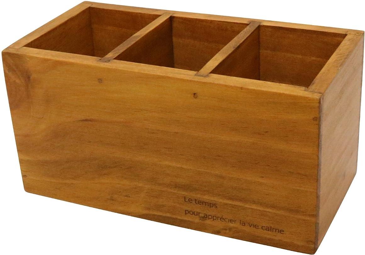 簡略化するもっと少なくホラーcreer (クレエ) ペン立て 木製 パインペンスタンド 91500123
