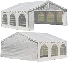 Outdoor Party Tent Canopy Shelter White - 20'x20' Budget PE Tent