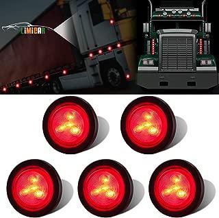 LIMICAR 5PCS Red Side Marker LED Lights 2