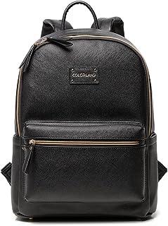 Colorland Reisetasche PU Leder Rucksack Mutter Frauen Wikeltasche Schultertasche