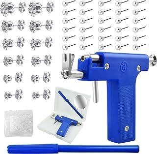 Sponsored Ad - Ear Piercing Tool Kit,Ear Piercing Gun Tools Set,Ear Nose Navel Piercing Machine with 98Pcs Ears Studs,Prof...