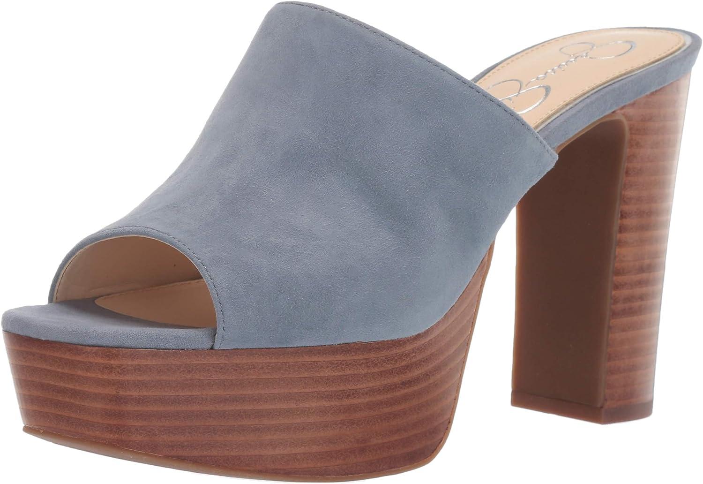 Jessica Simpson Tulsa Mall Women's Heeled Camree Max 61% OFF Sandal