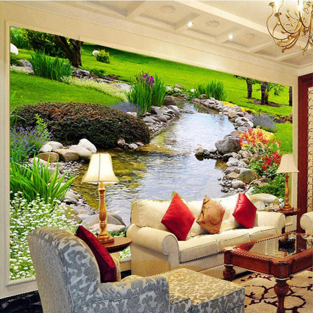 Ansyny 3D Mural Wallpaper River All Sales items free shipping Park Nature Landscape