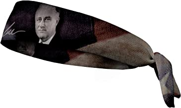عصابة رأس JUNK Brands Franklin D Roosevelt-FT Franklin D Roosevelt Flex Tie