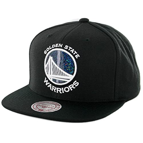 a272f52ad95 Mitchell   Ness NBA Dark Hologram Snapback Hat - Black