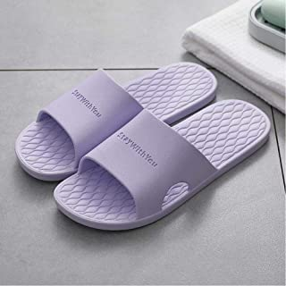 Men'S Slippers Summer Simple Home Indoor Non-Slip House Slippers