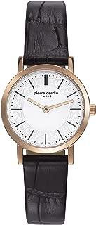 Bonne Nouvelle Gold Women Brown Leather watch-PC108112F03