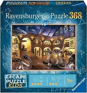 Ravensburger- Escape Puzzle Kids 368 pièces-Une Nuit au musée Room Enfant, 12935