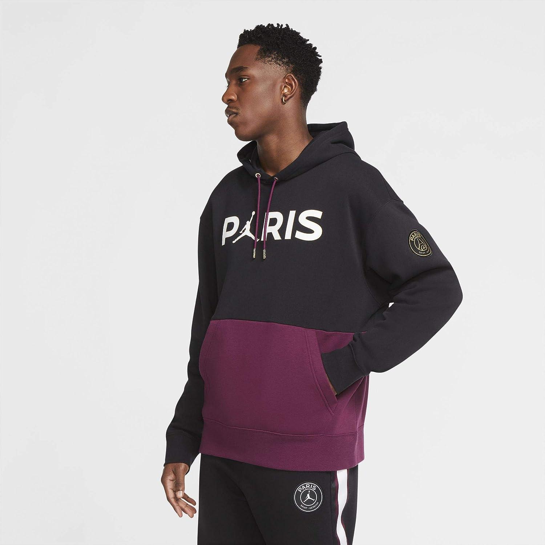 Nike PSG Paris Saint Germain Felpa Jordan Cappuccio 2020-21