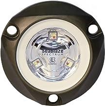 Lumitec 101436 SeaBlazeX Mini Spectrum LED Underwater Boat Light, Surface Mount, RGBW Full-Color Output