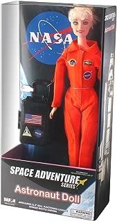Daron Astronaut Doll (Female - Blonde) in Orange Suit